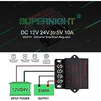 Convertidor 12V a 5V SUPERNIGHT Power Supply Transformer