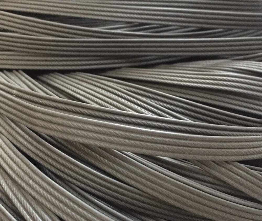 N / A Synthetic Rattan Repair Material, Plastic Rattan Furniture Repair, Used to Weave and Repair Chairs, Tables, Storage Baskets (Gray)