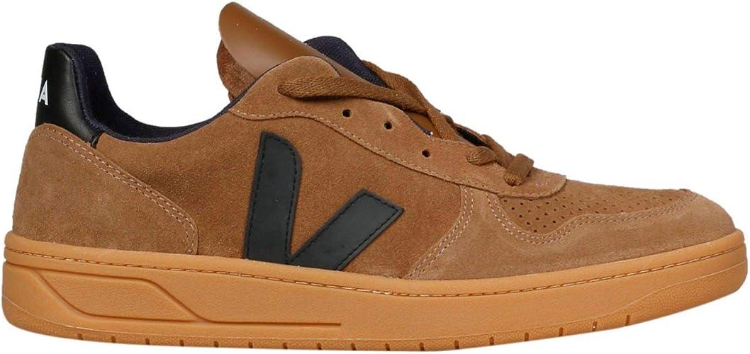 ganado Culpa Vago  Veja Luxury Fashion VXM032077 - Zapatillas para hombre, color marrón, color  Marrón, talla 42 EU: Amazon.es: Zapatos y complementos