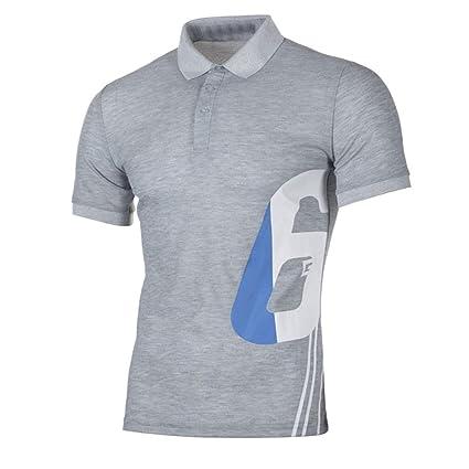 LuckyGirls Camisa Camisetas Originales Hombre Manga Cortos Verano Estampado de Dígito 6 Deportivas Blusa Moda Polos