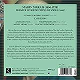 Marin Marais: Premier Livre Des Pieces De Viole