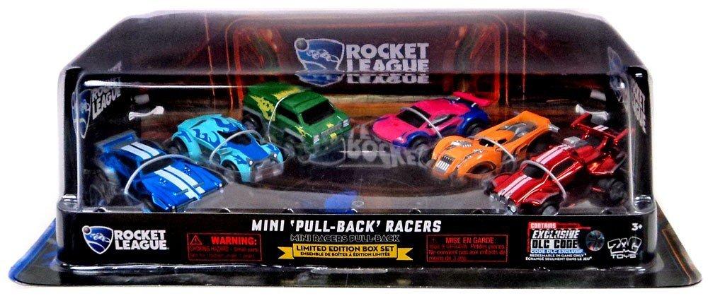 ロケットリーグMini Pull Back Racers限定版ボックスセットof 6 with DLC B0783MK4Y6