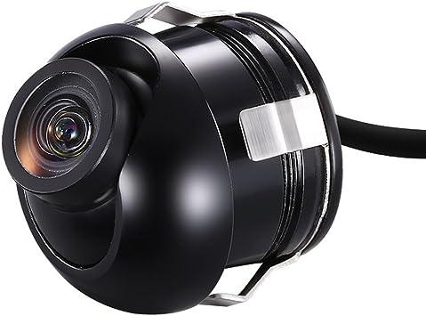 Auto 360 Grad Mini Hd Rückfahrkamera Wasserdichte Rückansicht Kamera Einparkhilfe Farb Rückfahrkamera Backup Kfz Kamera Nachtsicht Auto