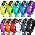 Garmin Vivofit Bands, SKYLET Colorful Fitness Replacement Bands for Garmin Vivofit 1, NOT for Garmin Vivofit 2/3/JR/HR(No Tracker)