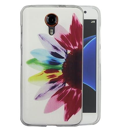 Dooki, Smart Prime 7 Funda, Delgado Suave Silicona TPU Protectore Teléfono Cubierta Caso Carcasa Para Vodafone Smart Prime 7 (A-6)