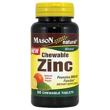 Chewable zinc