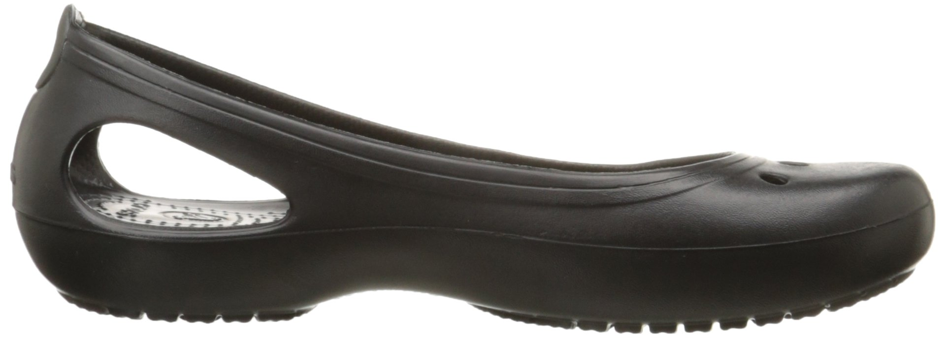 Crocs Women's Kadee Ballet Flat,Black/Black,8 M US by Crocs (Image #7)