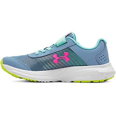 d162ce0e1e Under Armour Kids' Pre School Rave 2 Print Alternate Closure Sneaker