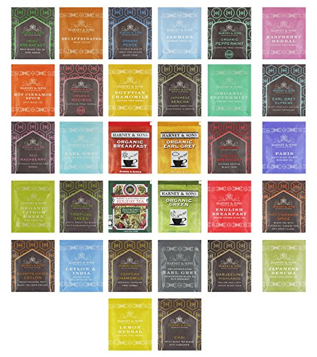 Harney & Sons Tea Bags Assortment Includes Mints by Variety Fun (40 ()