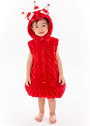 ODDBODS Fuse Costume for Boys & Girls - Cute One Piece in Small - Red Onesie Costume for Kids