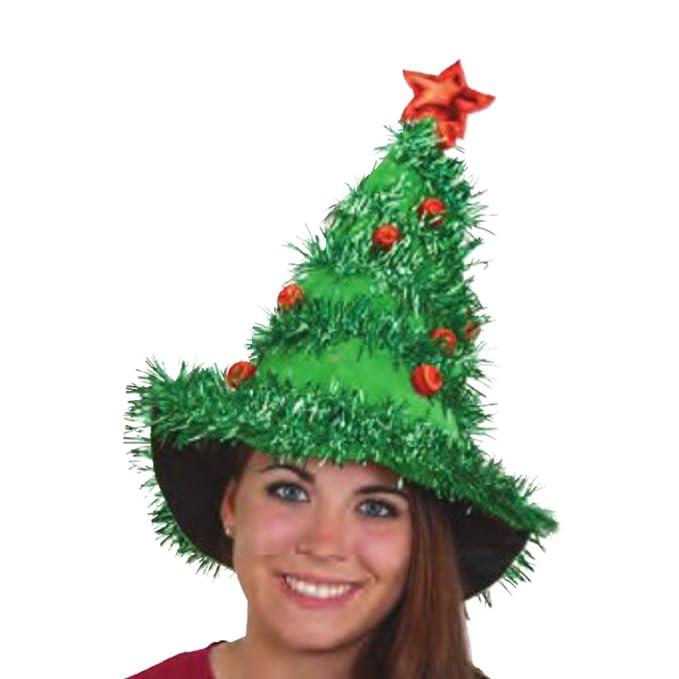 Árbol de Navidad con adornos de Navidad sombreros sombrero de ...