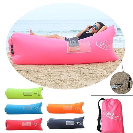 Amazon.com: bonclare playa tumbonas, resistente al agua aire ...