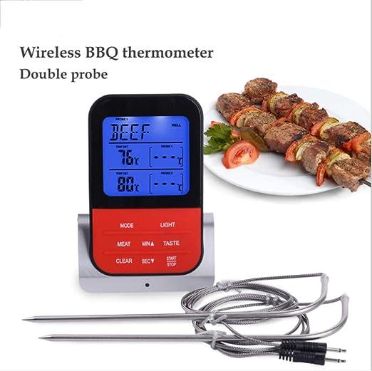 Compra DANYCU Termómetro inalámbrico para Carne Cocción remota ...