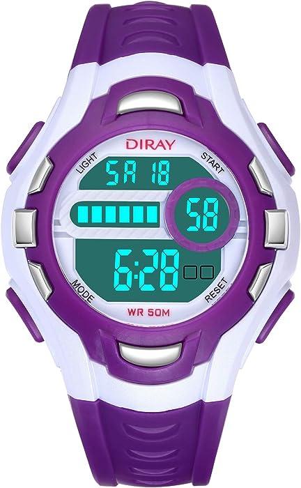 montre digitale pour ado fille