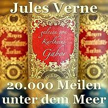 20.000 Meilen unter dem Meer Hörbuch von Jules Verne Gesprochen von: Karlheinz Gabor