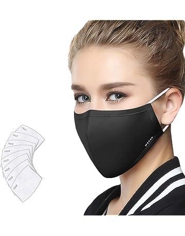 Bekleidung Zubehör Masken Pm2.5 Luftfilter Mund Maske Waschbar Baumwolle Atemschutz Austauschbare Filter Mund Maske
