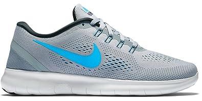save off 98096 391c3 Nike Herren Free RN Sneakers, Grau (Stealth Blue Glow-Black-Cool