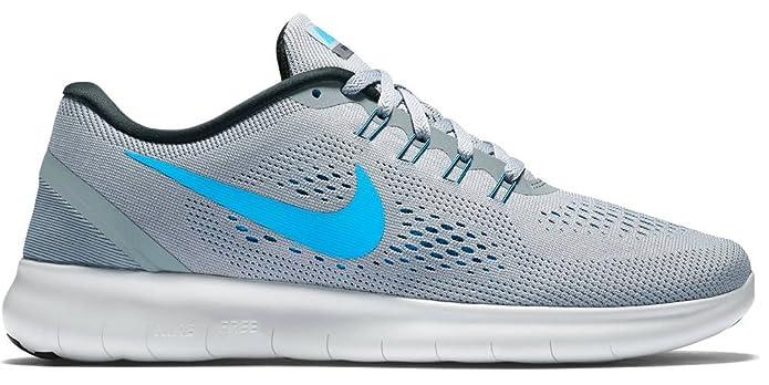 best service e892e d875b Nike Herren Free RN Sneakers, Grau (Stealth Blue Glow-Black-Cool Grey),  48.5 EU  Amazon.de  Schuhe   Handtaschen