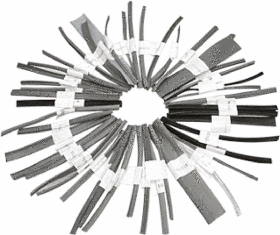 CRL Glazing Vinyl and Spline Sample Chain