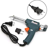 Oenbopo 220V 60W Handheld Auto Welding Electric Soldering Iron Temperature Gun Solder Tool Kit with Solder Wire Holder