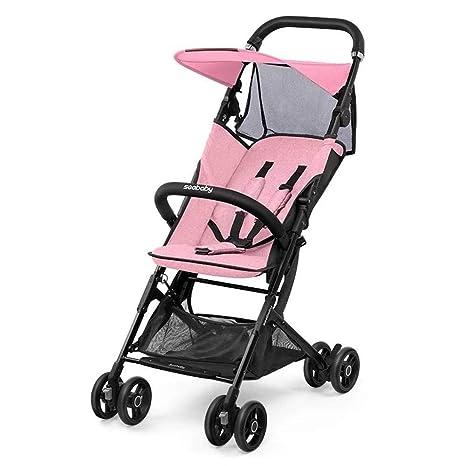 Olydmsky Carro Bebe,Cochecito de bebé Silla de Paseo Ultra Ligera Plegable portátil bebé Puede