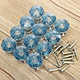 KINGSO 12pcs Acrylic Crystal Door Drawer Knob Handle - Best Reviews Guide