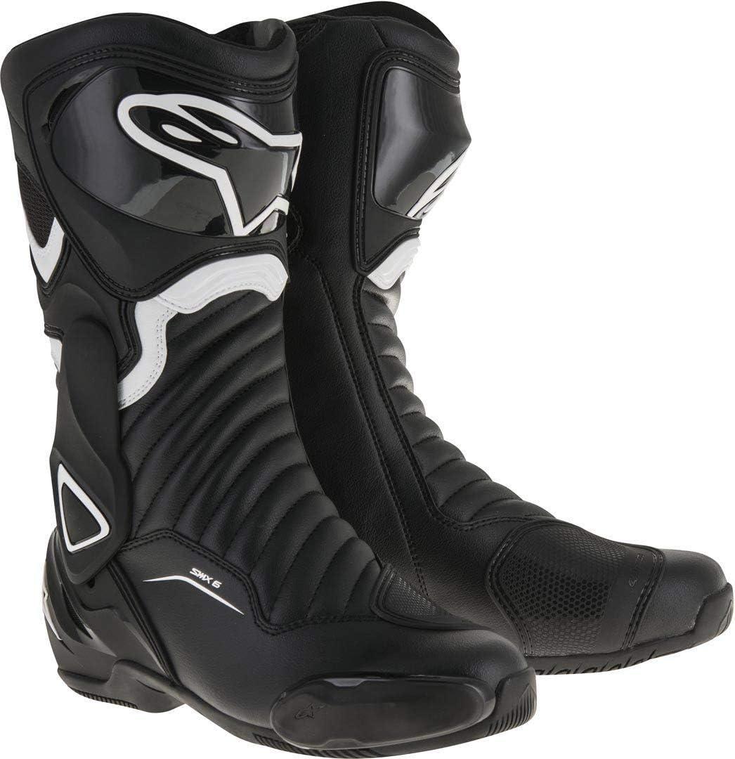 Alpinestars Womens Stella SMX-6 v2 Street Motorcycle Boot 37 Black//White