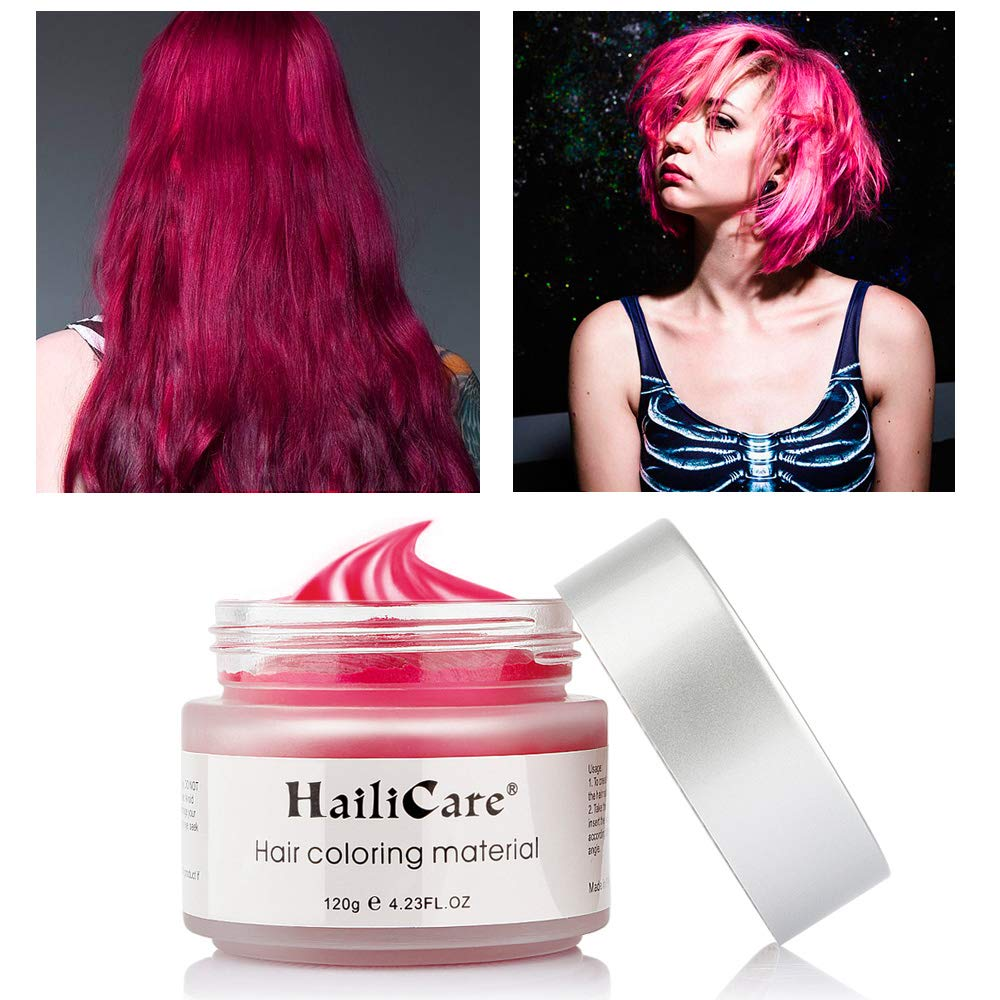 HailiCare White Hair Wax 4.23 oz, Professional Hair Pomades, Natural White Matte Hairstyle Max for Men Women (White)