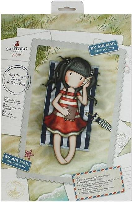 Paquete de papel de 6 X 6 Santoro-GORJUSS Postal Colección Craft 32pk