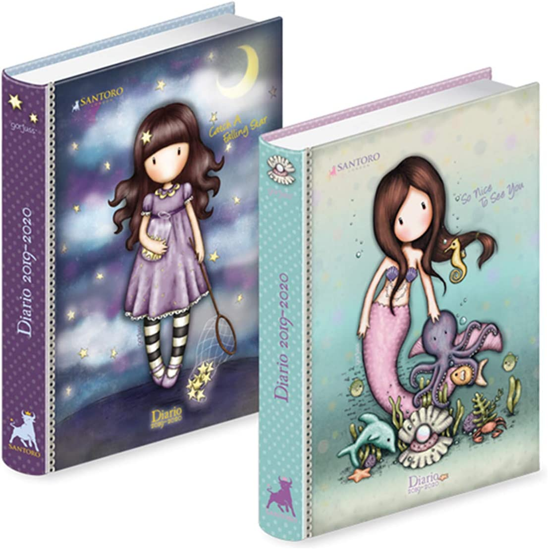 Giocattoli - Santoro London Gorjuss - Diario Pocket (Assortito): Amazon.es: Juguetes y juegos