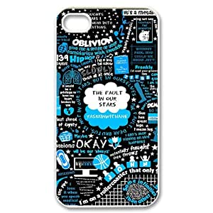 The Fault In Our Stars okay okay For Iphone 4 4S case cover FNET-L872413