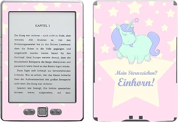 Disagu SF de 103567 _ 997 Diseño Protector de Pantalla para Amazon Kindle 4 eReader, diseño Signo Unicornio Transparente: Amazon.es: Informática