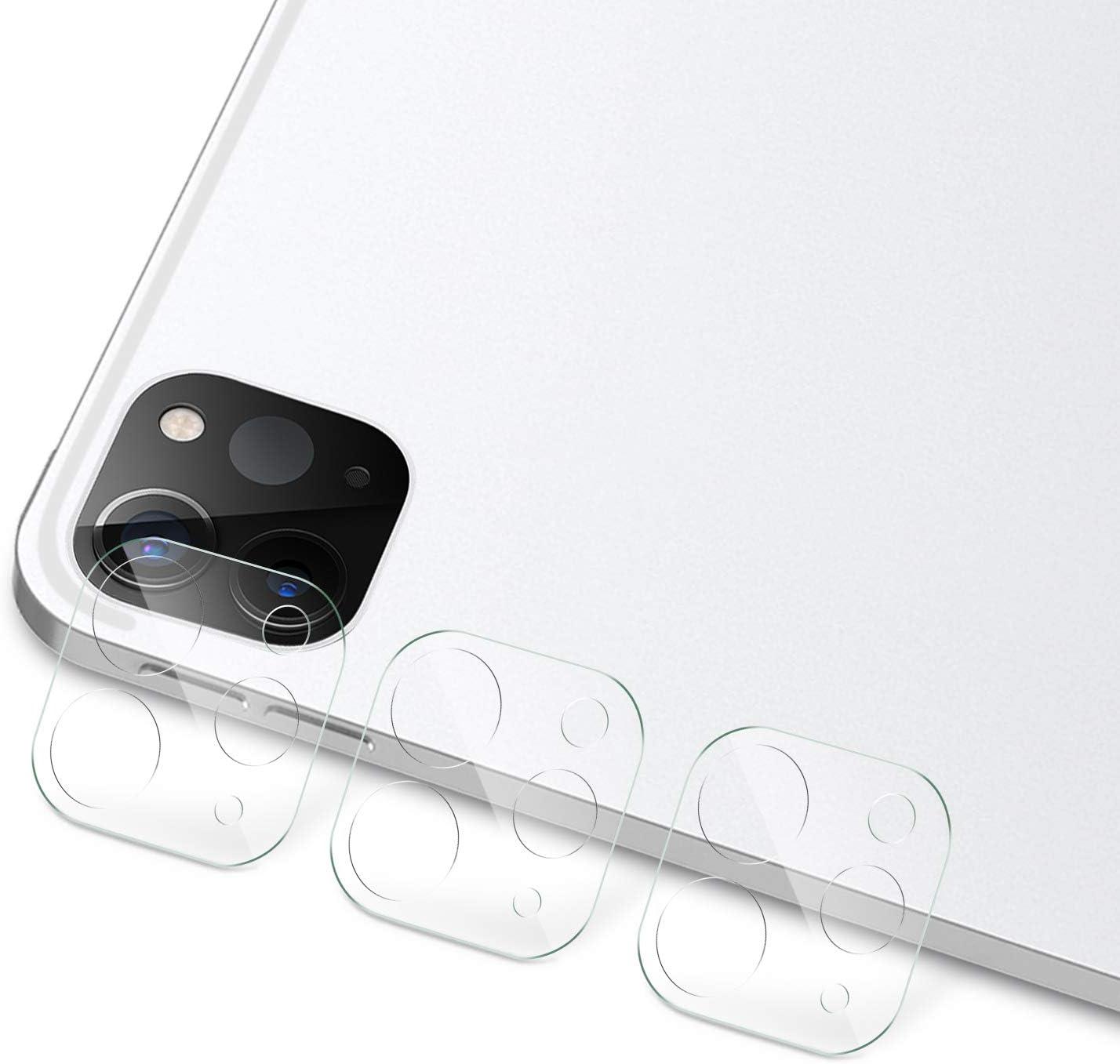 IVSO Protector de Lente de Cámara para iPad Pro 11 2020/iPad Pro 12.9 2020, Premium Lente de Cámara Protector de Pantalla para iPad Pro 11 2020/iPad Pro 12.9 2020, 3 Pack