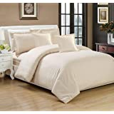 Moon Hotel Stripe Comforter 4Pcs Set, Single Size, BG-001