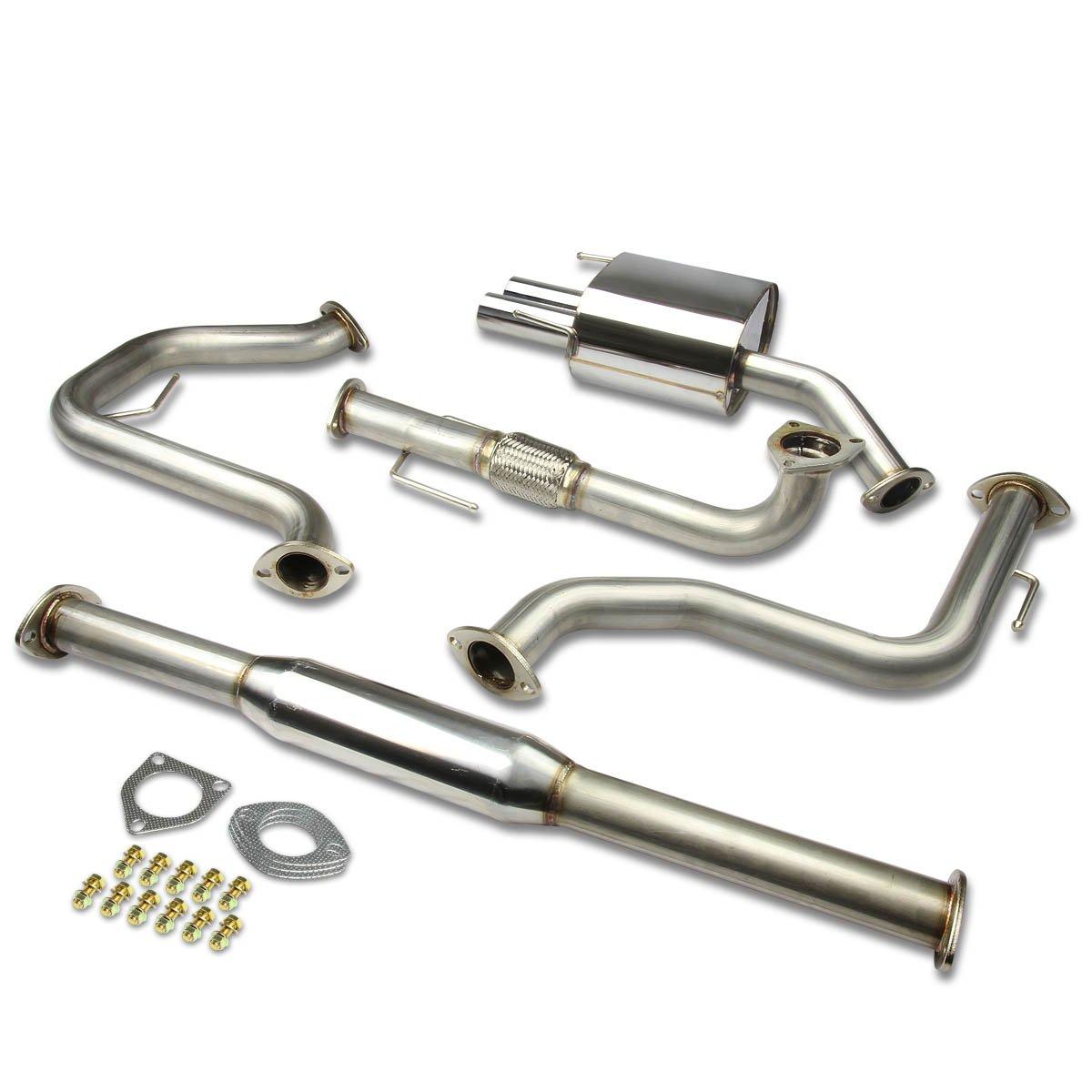 DNA Motoring CBE-SAAB9306 CBESAAB9306 Stainless Steel Catback Exhaust System