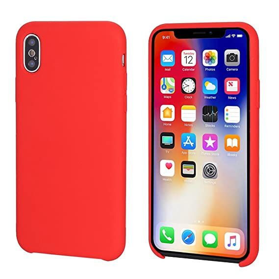 Giveaway iphone x silicone case product red