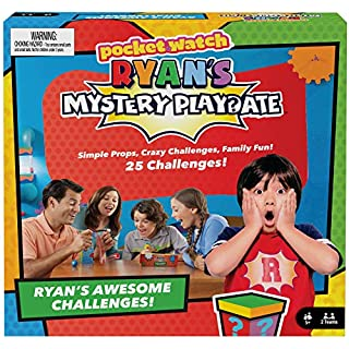 Ryan's Mystery Playdate Family Challenge Game, Gift for 7 Years and Older