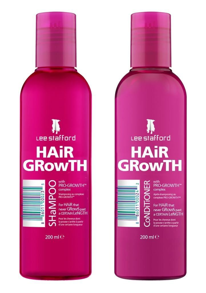 Lee Stafford Hair Growth Moisturising Conditioner With Pro Growth Complex 200ml Qty 2
