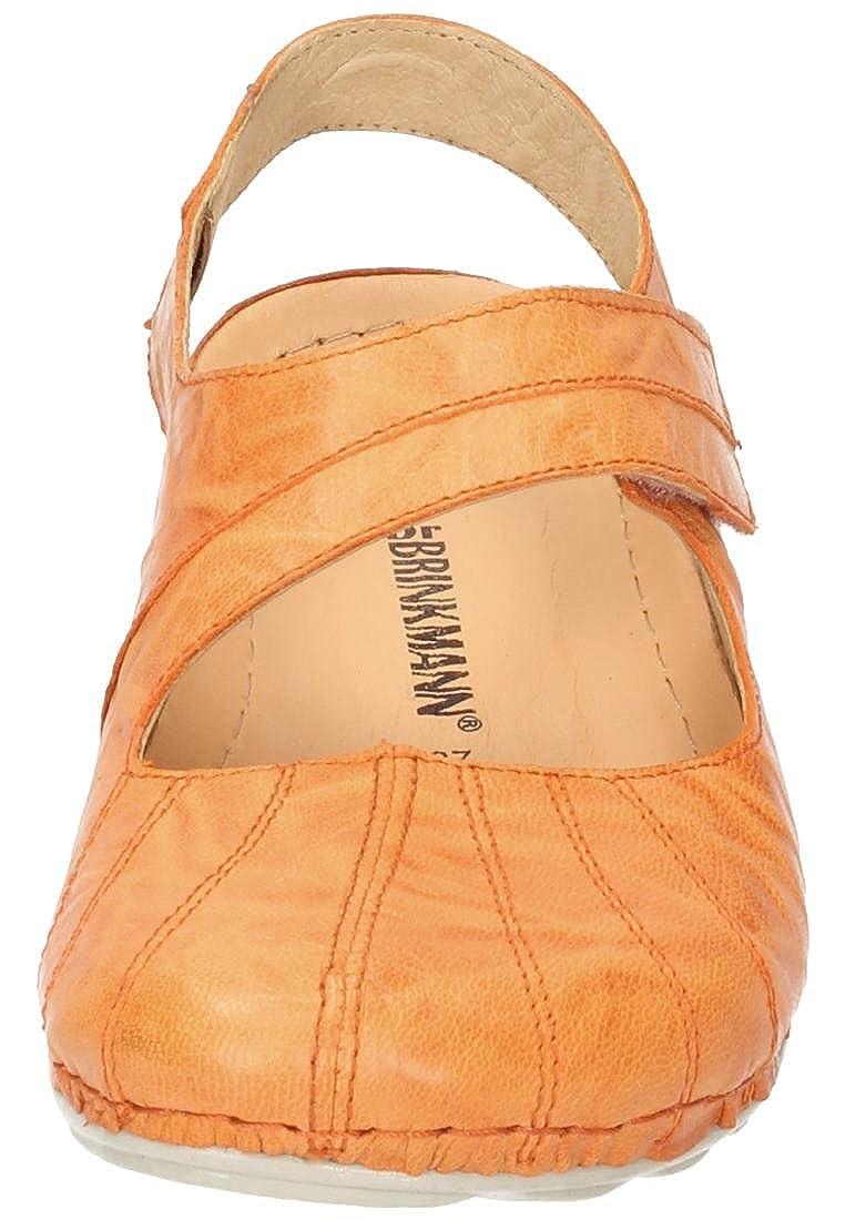 Dr. Dr. Dr. Brinkmann Damen Sandale Orange 04e0a7