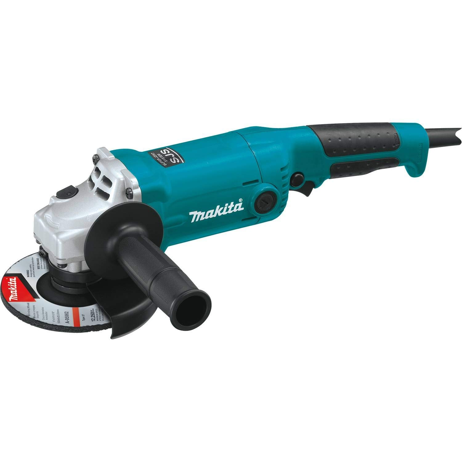 Makita GA5020Y 5 SJS Angle Grinder, with AC Dc Switch