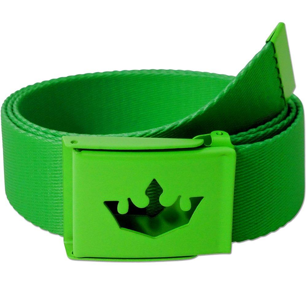 Meister Player Golf Web Belt - Adjustable & Reversible - Player Green