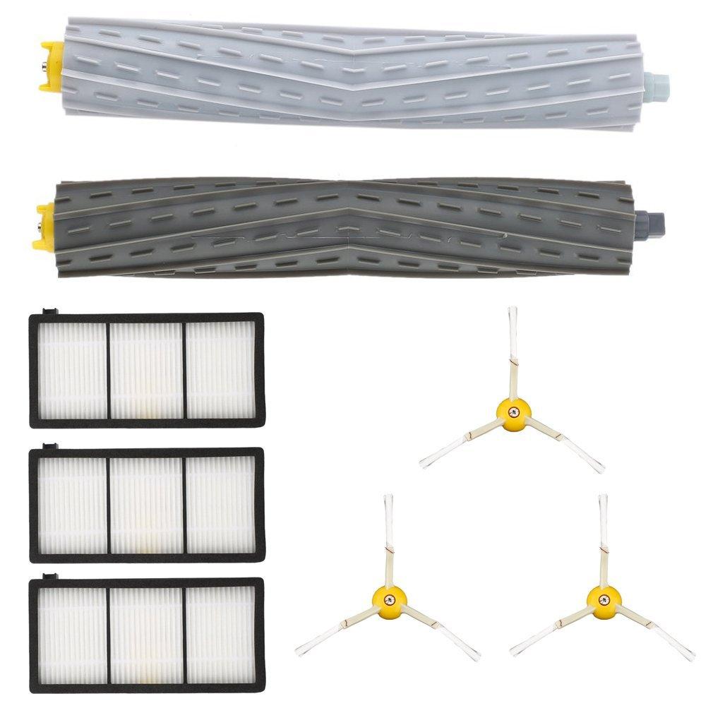 sunsbell spazzola laterale 3 PCS 3 PCS filtro HEPA 2 PCS rollio spazzola per Roomba Serie 800