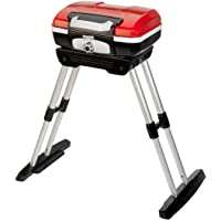 Cuisinart CGG180 CGG-180 Petit Gourmet Gas Grill with VersaStand, Red, 31.5″ H x 16.5″ W x 16″ L