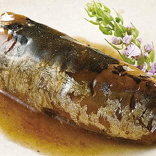 小野食品) イワシ梅煮 約500g (10切入)