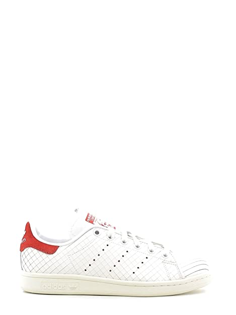 sale retailer 977c1 9bf72 Adidas Originals Stan Smith S32258 Scarpa Da Ginnastica Donna Bianco, 43 1 3
