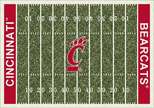 - Cincinnati College Home Football Field Rug: 7'8