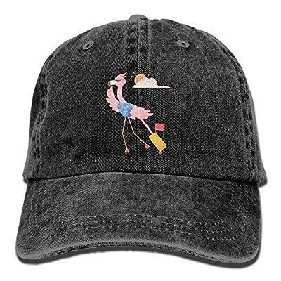 KIOJIANM Flamingo Animals Baseball Caps Cartoonk Hats Casual