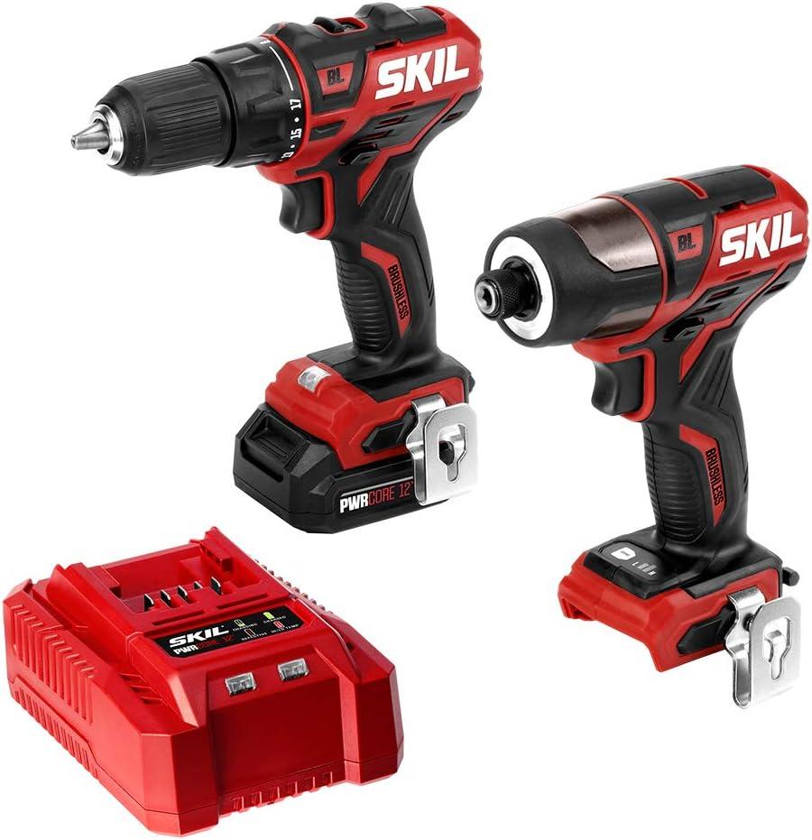 Amazon.com: SKIL 2-Kit de herramientas: PWRCore CB738401 12 ...