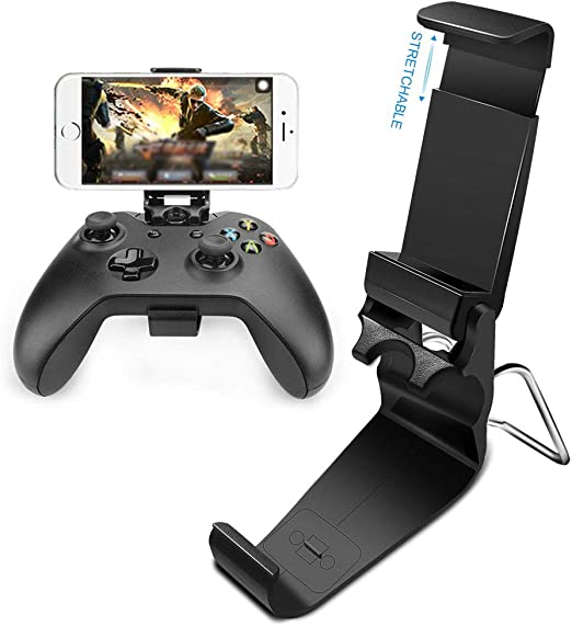 Amazon Com Xberstar Smart Phones Mount Bracket Hand Grip Stand Collapsible Foldable Clip Holder For Xbox One S Slim Ones Gamepad Controller Electronics