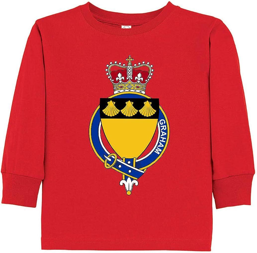 Tenacitee Toddlers Scottish Garter Family Graham Long Sleeve T-Shirt